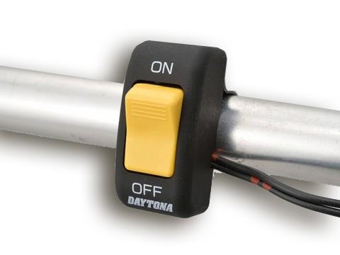 Lenkerschalter Ein-Aus gelb-schwarz universal für 22 mm Lenker