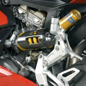 Carbon Federbeinabdeckung Sichtcarbon für Ducati Panigale