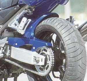 Hinterradabdeckung für Yamaha FZS 600 Fazer 1998-2001