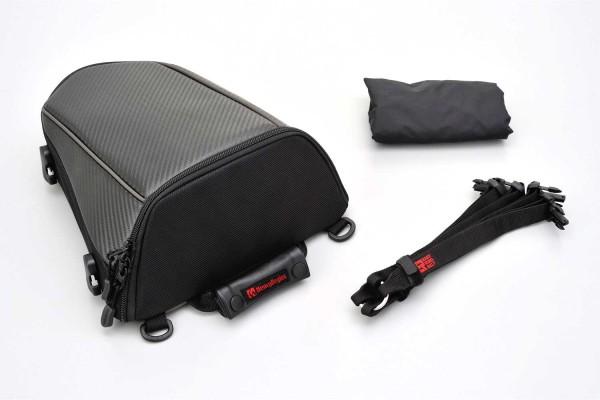 HenleyBegins Sitzbanktasche mit 4 l Fassungsvermögen und Regenüberziehhaube