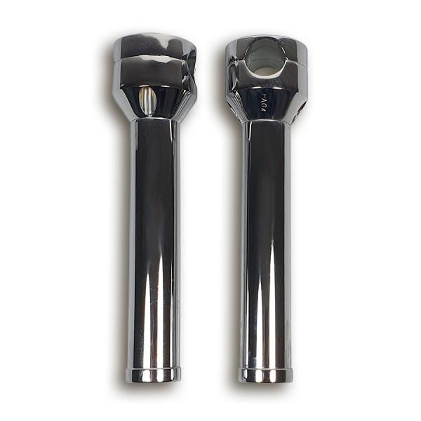 Riser Night Hog verchromt für Zolllenker, ca. 203 mm hoch, mit Sockel für Honda VT 600 88-07