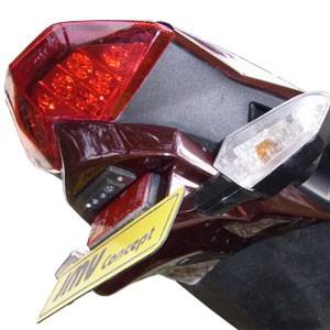 Heckinnenverkleidung für Kawasaki Z 1000 2010-