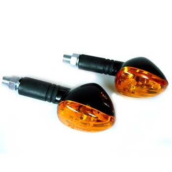 Miniblinker mit 10W Glühlampen und e-Prüfzeichen, Paar
