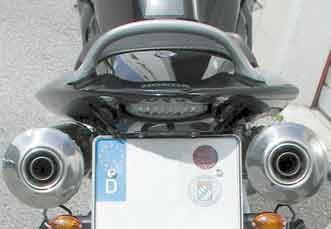 Heckinnenverkleidung mit LED-Rücklicht für Honda CB 900 Hornet 2002-