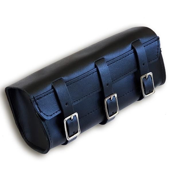 Werkzeugrolle Three Strap Tool Pouch mit Reißverschluß innen aus echtem Leder