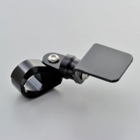 Lenkerhalter für Zusatzinstrumente für 22 mm Lenker schwarz Aluminium
