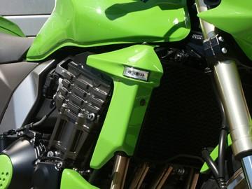 Kühlerverkleidung mit integrierten LED-Blinkern für Kawasaki Z 1000 2003-