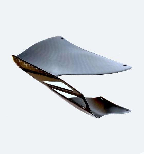 Winglets groß aus Carbon mit Anbaukit für Sportmotorräder
