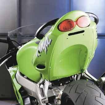 Heckinnenverkleidung für Kawasaki Ninja ZX-6R 2000-2001