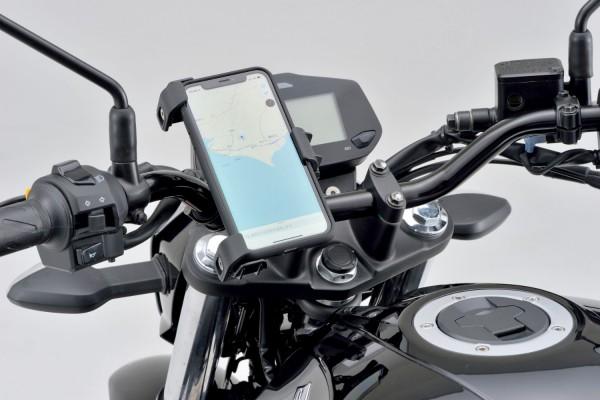 Smartphonehalter verstellbar für 22-29 mm Lenkerdurchmesser Montagebeispiel