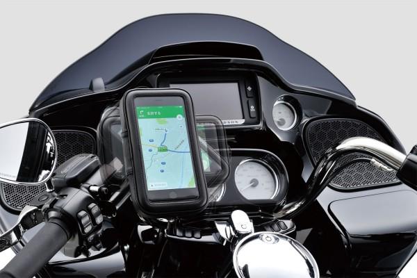Smartphonehalter mit Case für 22-29 mm Lenkerdurchmesser