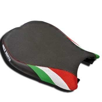 Luxury Line Tricolore Sitzbank für Ducati 848