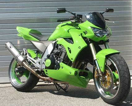 Kühlerverkleidung für Kawasaki Z 1000 2003-